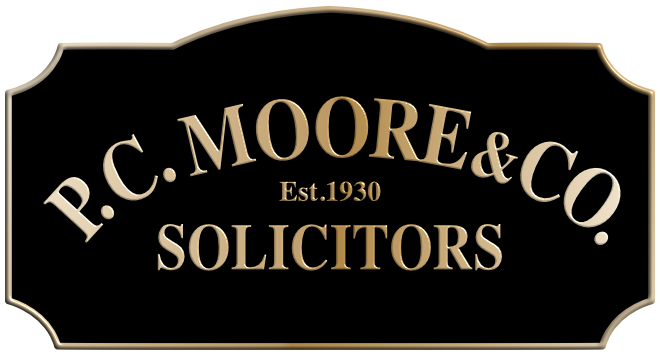 P.C. MOORE & CO. SOLICITORS Est. 1930